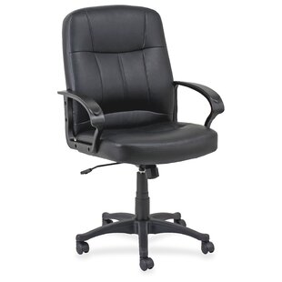 Chadwick Leather Task Chair by Lorell Sale