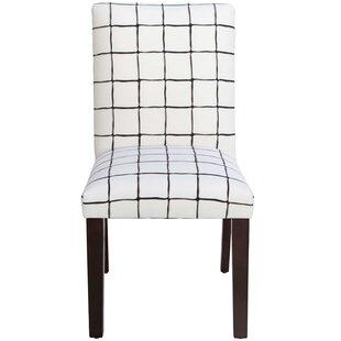 Brayden Studio Cheeseman Check Parsons Chair