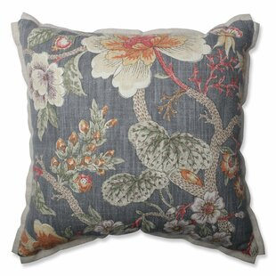 Room With A View Haze Cotton Throw Pillow
