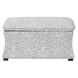 Morgan Veranda Hourglass Storage Ottoman by Ave Six