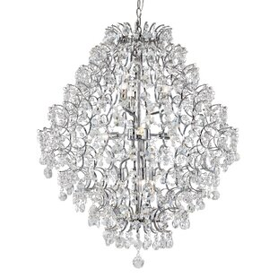 Bustos 9-Light Semi Flush Mount by Charlton Home