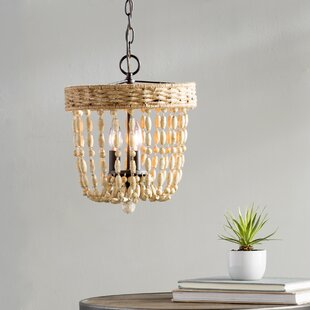Mistana Faun 3-Light Metal Foyer Pendant