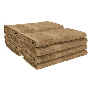 Wasser 100% Cotton Hand Towel (Set of 8)
