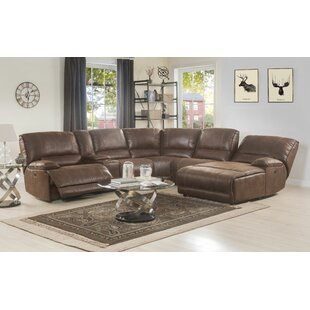 Comparison Azcuy Reclining Sectional by Red Barrel Studio Reviews (2019) & Buyer's Guide
