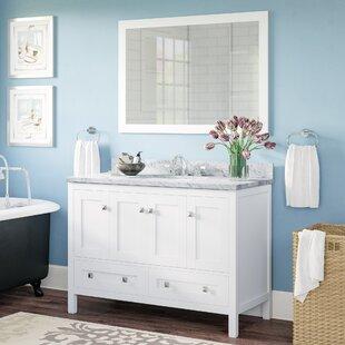 Midbury 49 Single Bathroom Vanity Set with Mirror by Andover Mills