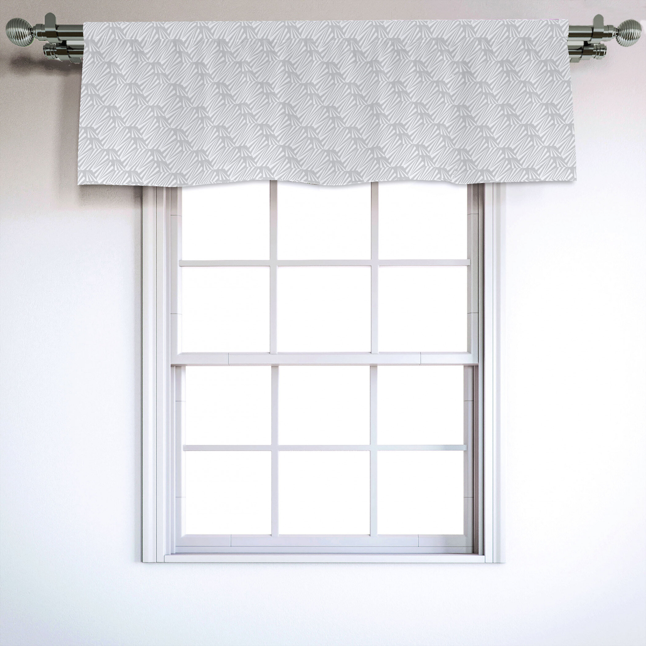 "Neutral 4"" Window Valance"