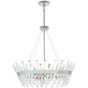 Laffoon 8-Light Crystal Chandelier