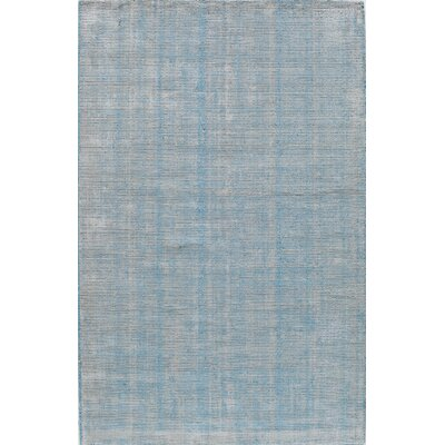 Hand Tufted Turquoise Area Rug The