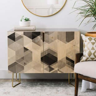 Graphic Credenza East Urban Home