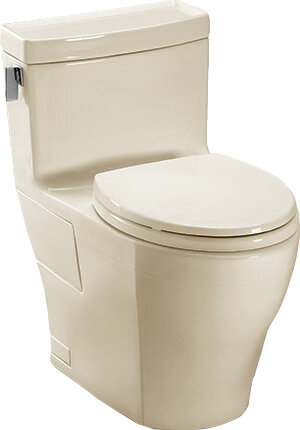 Legato 1 28 Gpf Water Efficient Elongated One Piece Toilet With High Efficiency Flush Seat Included