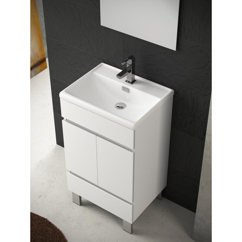 Orren Ellis Niles 20 Single Bathroom Vanity Set Wayfair