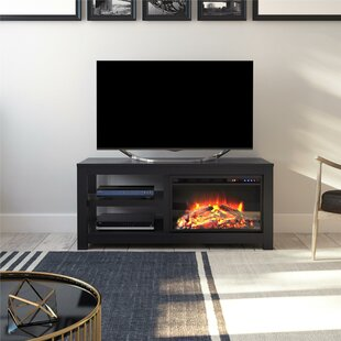 Aldo TV Stand for TVs up to 55with Electric Fireplace by Winston Porter