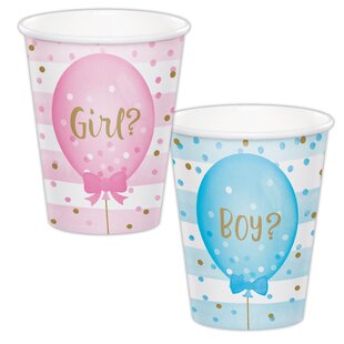 Mckay Baloons Paper Disposable Cup (Set of 24)