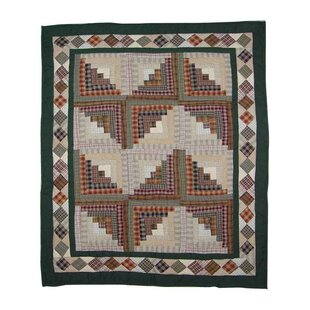 Peasant Log Cabin Baby Blanket ByPatch Magic