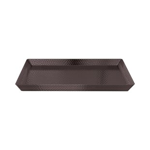 Creager Hammered Accent Tray