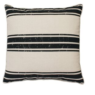 Million Stripe Linen Throw Pillow