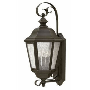 Read Reviews Edgewater 3-Light Outdoor Wall Lantern By Hinkley Lighting