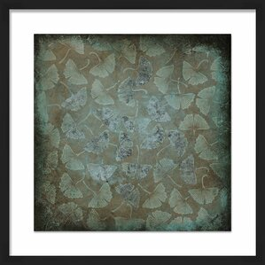 Framed Wall Pictures framed leaves wall art | wayfair
