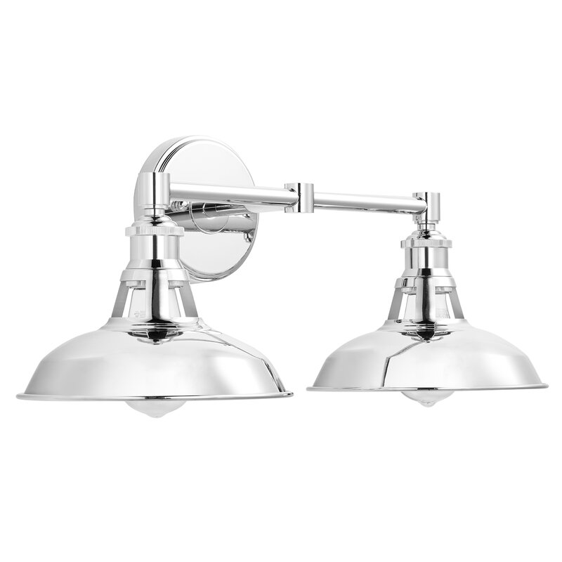 Breakwater Bay Sigala 2-Light Armed Sconce & Reviews ...