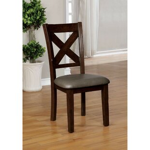 Reaon Transitional Upholstered Dining Chair (Set of 2)