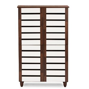 Katherine 18 Pair Shoe Storage Cabinet