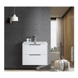 Latt 60mm Wall Hung Single Vanity Unit By Belfry Bathroom
