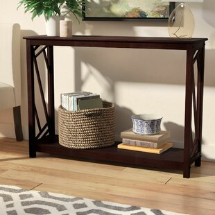 Andover Mills Lavinia Wood Console Table