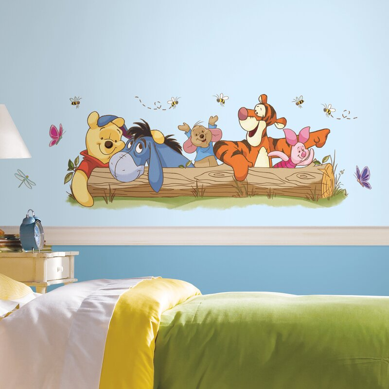 Room Mates Winnie The Pooh Outdoor Fun Giant Wall Decal Reviews