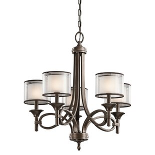 Darby Home Co Boswell 5-Light Shaded Chandelier