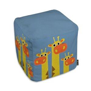 Jazlyn Giraffes Ottoman by Zoomie Kids