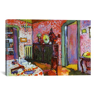 U0027Interior (My Dining Room)u0027 By Wassily Kandinsky Painting Print On Canvas