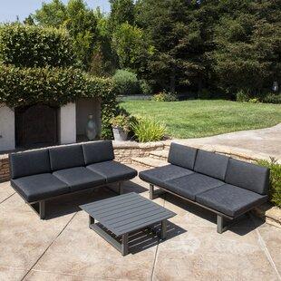 Lingo 3 Piece Sofa Set with Cushions