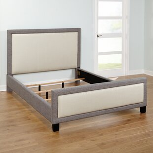 Queen Upholstered Platform Bed by TMS