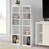 Elma Multimedia Storage Standard Bookcase (Set of 2) by Zipcode Design™