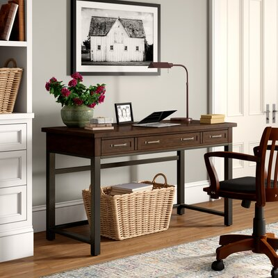 Mission Style Wood Desk Wayfair