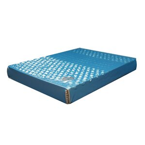 Double-Wall Leak-Proof Patented Waterbed Mattress Hydro-Support 1800dw by Strobel Mattress