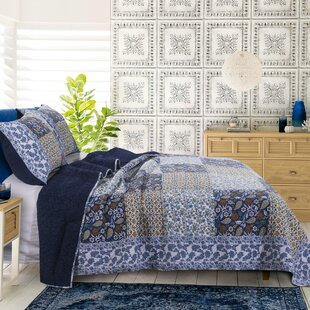 Navy Patchwork Quilts Coverlets Sets You Ll Love In 2021 Wayfair