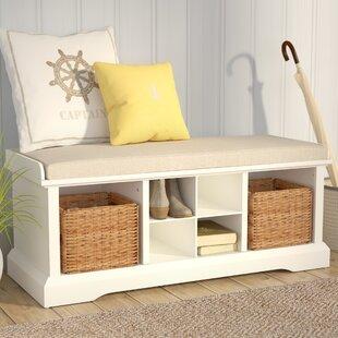 Beachcrest Home Wabasso Storage Bench