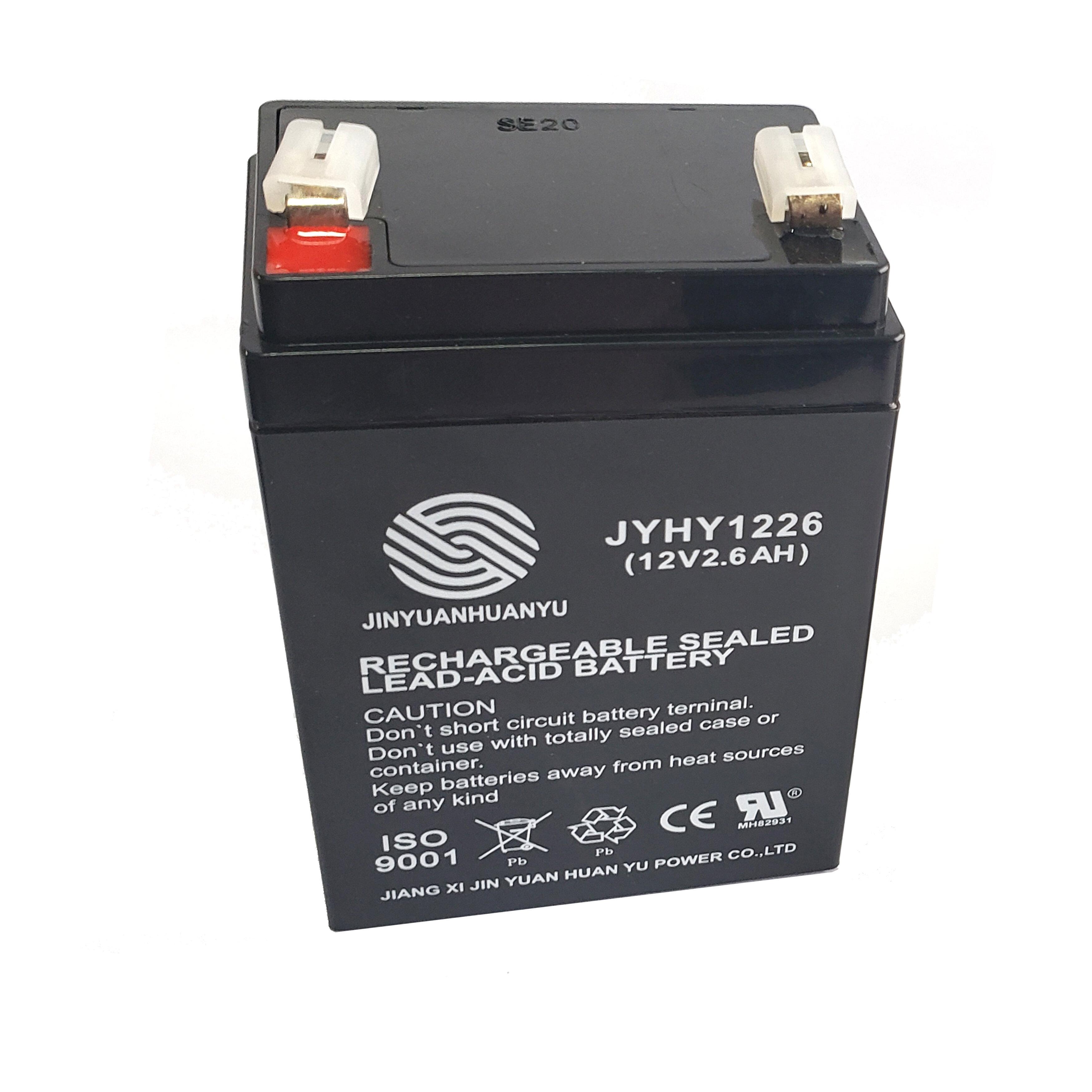 Aleko Replacement Battery For Gate Opener Ar750 12v 2 6 Ah Wayfair Ca