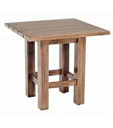 Woodlands Aluminum End Table