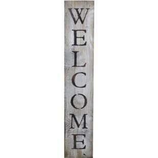 In-A-Word Welcome Wall D?cor by Fireside Home