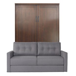 Delapaz Queen Upholstered Murphy Bed