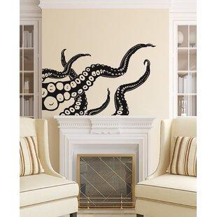 Octopus Tentacles Wall Decal  sc 1 st  Wayfair & Sea And Beach Themed Wall Decals Youu0027ll Love | Wayfair