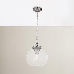 Mercury Row Asellus 1-Light Globe Pendant