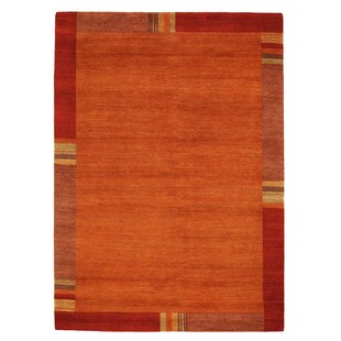 Hand Knotted Chestnut Rug by Hazelwood Home