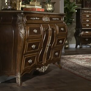 Imperial Court 6 Drawer Standard Dresser by Michael Amini (AICO)