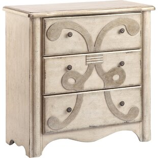 Bailley 3 Drawer Accent Chest