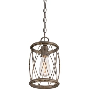 August Grove Meryl 1-Light Cylinder Pendant