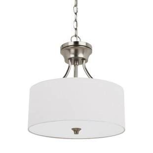 Foland 2-Light Semi Flush Mount by Alcott Hill