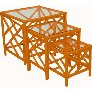 Amazing Chippendale 3 Piece Nesting Tables